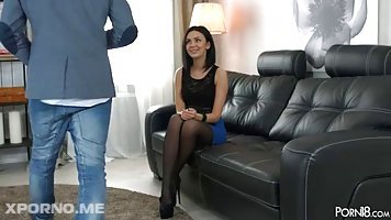 Black haired, Russian girl, Sheri Vi is often having casual sex with her best friend from school