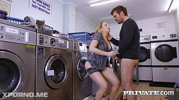 Mia Malkova is a lovely blonde lady who likes to fuck men while doing the laundry
