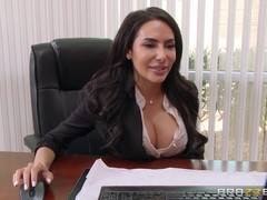 Lela Star is having sex with her employee, because her pussy needed a good fuck